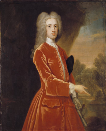 SIR HENRY HARPUR, 5th BT, by Vanderbank