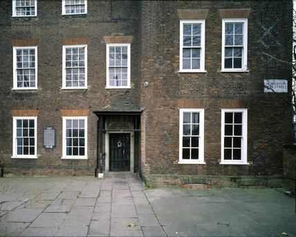 The North Front of Sutton House, Constructed 1525 and remodelled in 1700
