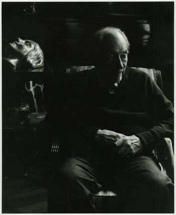 Edward Chambré Hardman in shadows