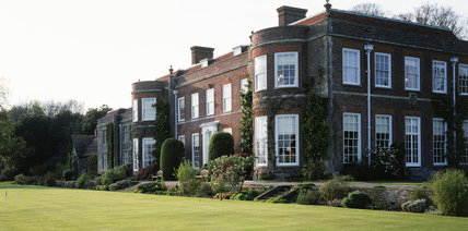 View of Hinton Ampner House taken from the main lawn
