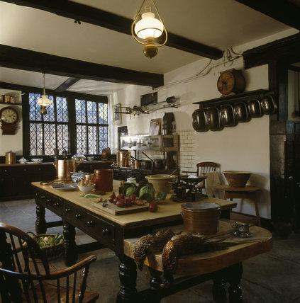 The Interior Of The Kitchen At Speke Hall Speke Hall At