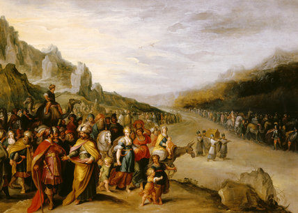 THE ARK OF THE COVENANT by Frans Francken