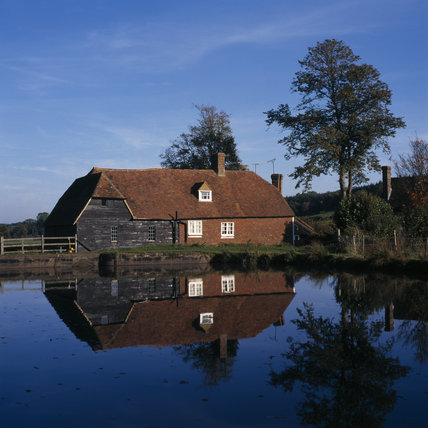 View of the mill at Bateman's