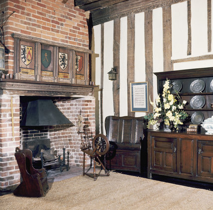 The Parlour at Coggeshall, Paycockes