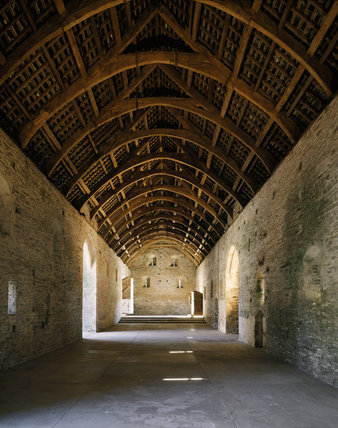 The Great Barn Buckland Abbey Buckland Abbey At National