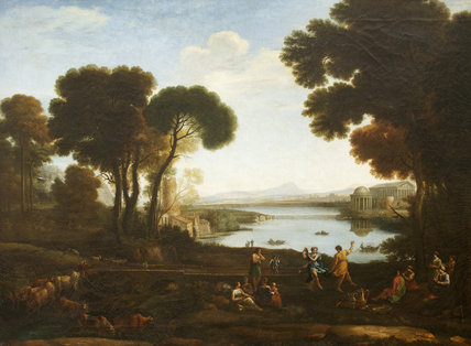 The Mill (after Claude Lorrain), Andrea Locatelli (Rome 1695 - Rome 1741)