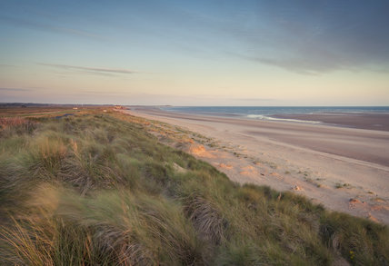 The beach at Brancaster Estate, Norfolk