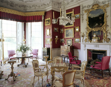 The lavish interior of the Cabinet Room