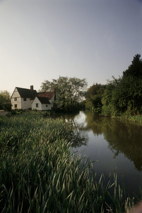 Willy Lott's House at Flatford Mill famously painted in John Constable's Hay-Wain