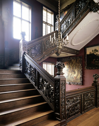 The Great Staircase at Ham House