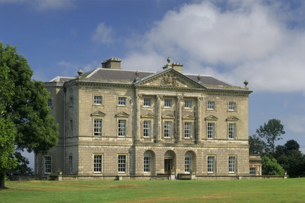 The mid-Georgian mansion of Castle Ward overlooks Strangford Lough in County Down