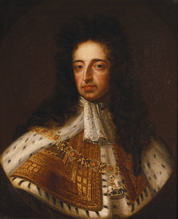 KING WILLIAM III, EARLY 18TH CENTURY by an unknown artist