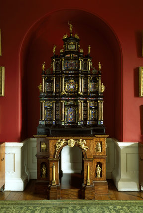 The Pope's Cabinet at Stourhead House in Wiltshire