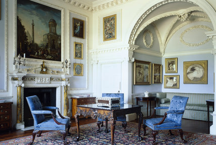 Room view of the Italian Room at Stourhead