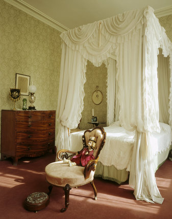 The West Bedroom at Melford Hall