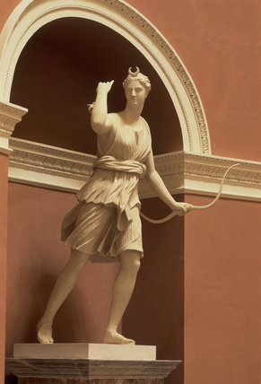 Statue of Diana in the Pantheon at Stourhead, Wiltshire