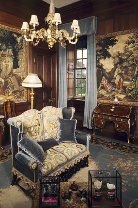 The Tapestry Room at Antony House