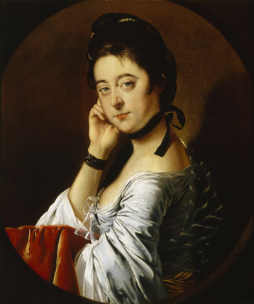 `MARY, WIFE OF THOMAS HUNT' by THOMAS WRIGHT of DERBY