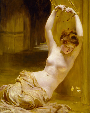 The Gilded Cage by St George Hare (1857-1933)