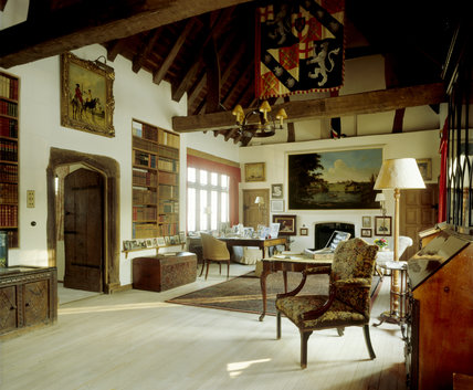 The Study at Chartwell, the workshop of Sir Winston Churchill for over forty years