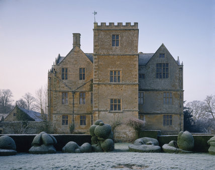 The exterior of Chastleton House, an early Jacobean building