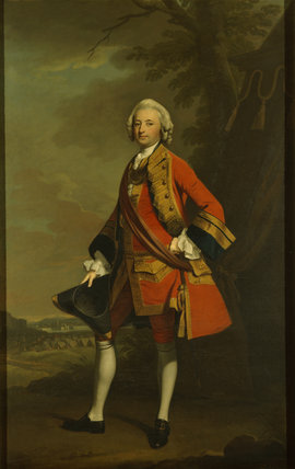 COLONEL EDMUND WINN, by Henry Pickering, 1746