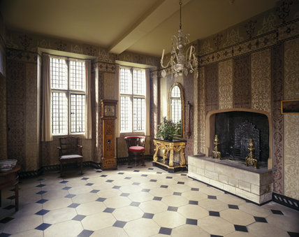 The Entrance Hall of the Treasurer's House, York