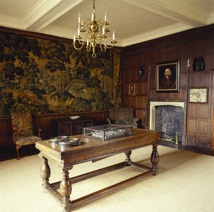 The Tapestry Room in the Treasurer's House, York