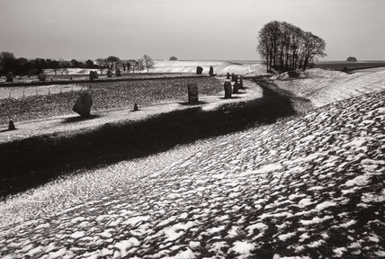 Avebury Ring, Wiltshire in winter