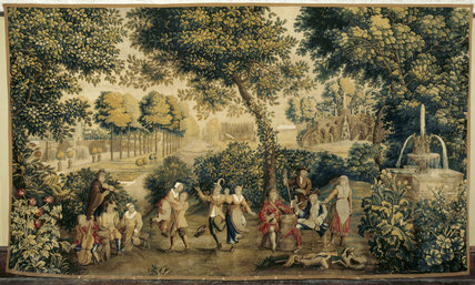 A tapestry in the Great Parlour