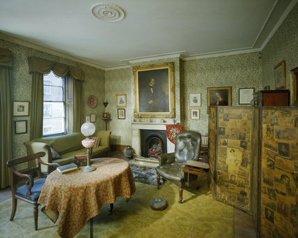 The Library or Drawing Room at Carlyle's House