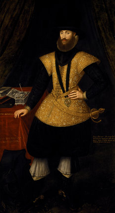 HENRY PERCY, 9th EARL OF NORTHUMBERLAND (1564-1632), ? English 1602