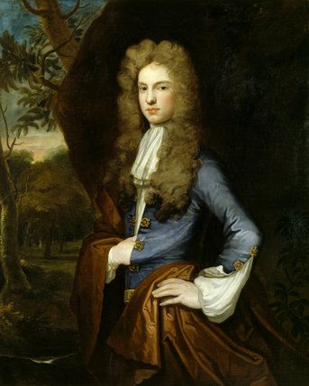 ASHE WINDHAM (1673-1749) by Kneller