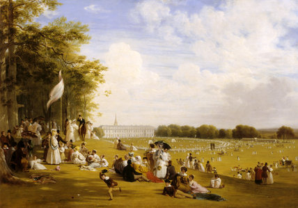 FETE IN PETWORTH PARK, 9 June 1835, by W. F. Witherington (1785-1863) at Petworth House.