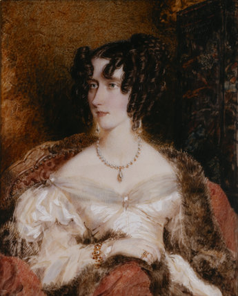 MARY ANNE DISRAELI, 1829 by F. Rochard
