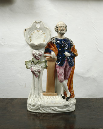 Staffordshire figure of William Shakespeare at Smallhythe Place