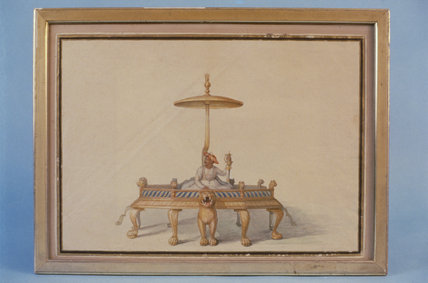 TIPU SULTAN ENTHRONED by Anna Tonelli, July 1800