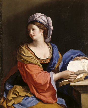 The Cumaean Sibyl by Studio of Guercino (Cento 1591-Bologna 1666)