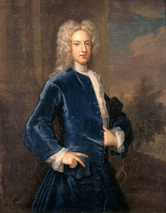 A portrait of SIR JOHN DRYDEN, 7TH BARONET (1709-70)