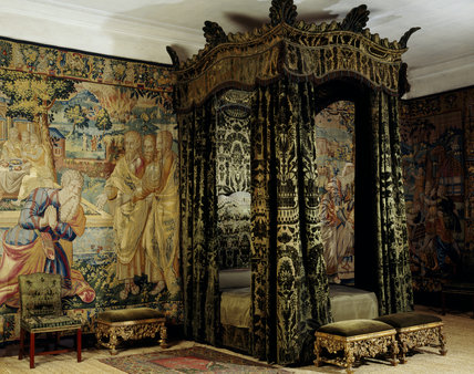 The Green Velvet Room with the early C18th