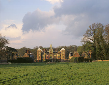 The south front of Blickling Hall viewed from Pond Meadow