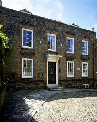 Lamb House dates from the early C18th and is typical of the attractive town of Rye