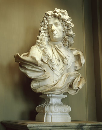 Close up of the Bust of William III at Petworth House