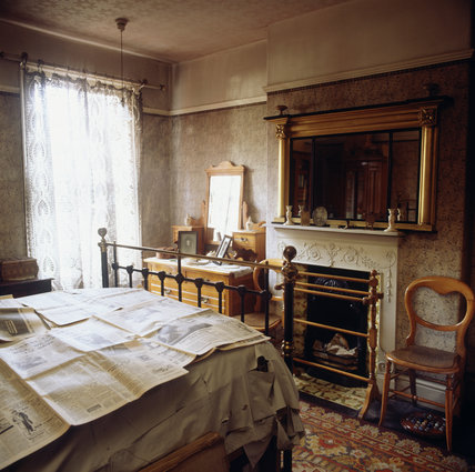 View of the Parents' Bedroom in Mr Straw's House
