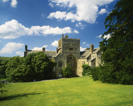 The south front of Buckland Abbey, with the Tower in the middle