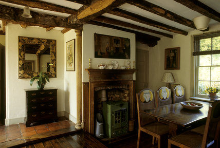 The Dining Room at Monk's House, the former home of Virginia and Leonard Woolf in East Sussex