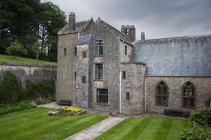 The south front of Compton Castle, Devon