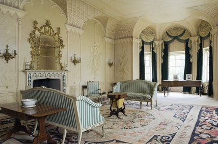The Whistler Room, Mottisfont Abbey, Hampshire