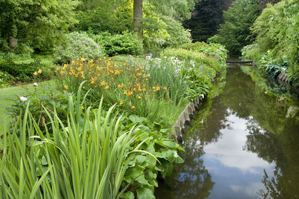The Canal Border from the bridge at Dunham Massey, Cheshire