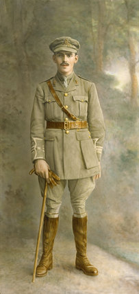 PORTRAIT OF ADRIAN DREWE (1891-1917) IN UNIFORM